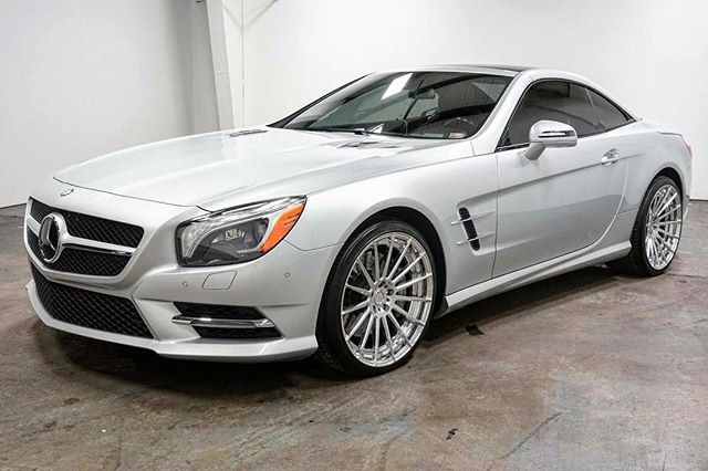 Instagram Media By Modernmotorcars 2013 Mercedes Sl550 With Custom Adv1 20 2 Piece Wheels Amg Sport Package Premium 1 And Much More Adv1 Mercedes Sl5