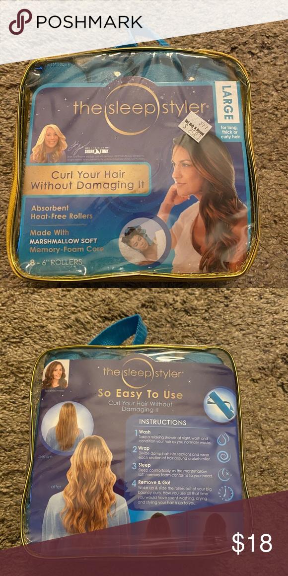 The Sleep Styler in 2020 The sleep styler, How to curl