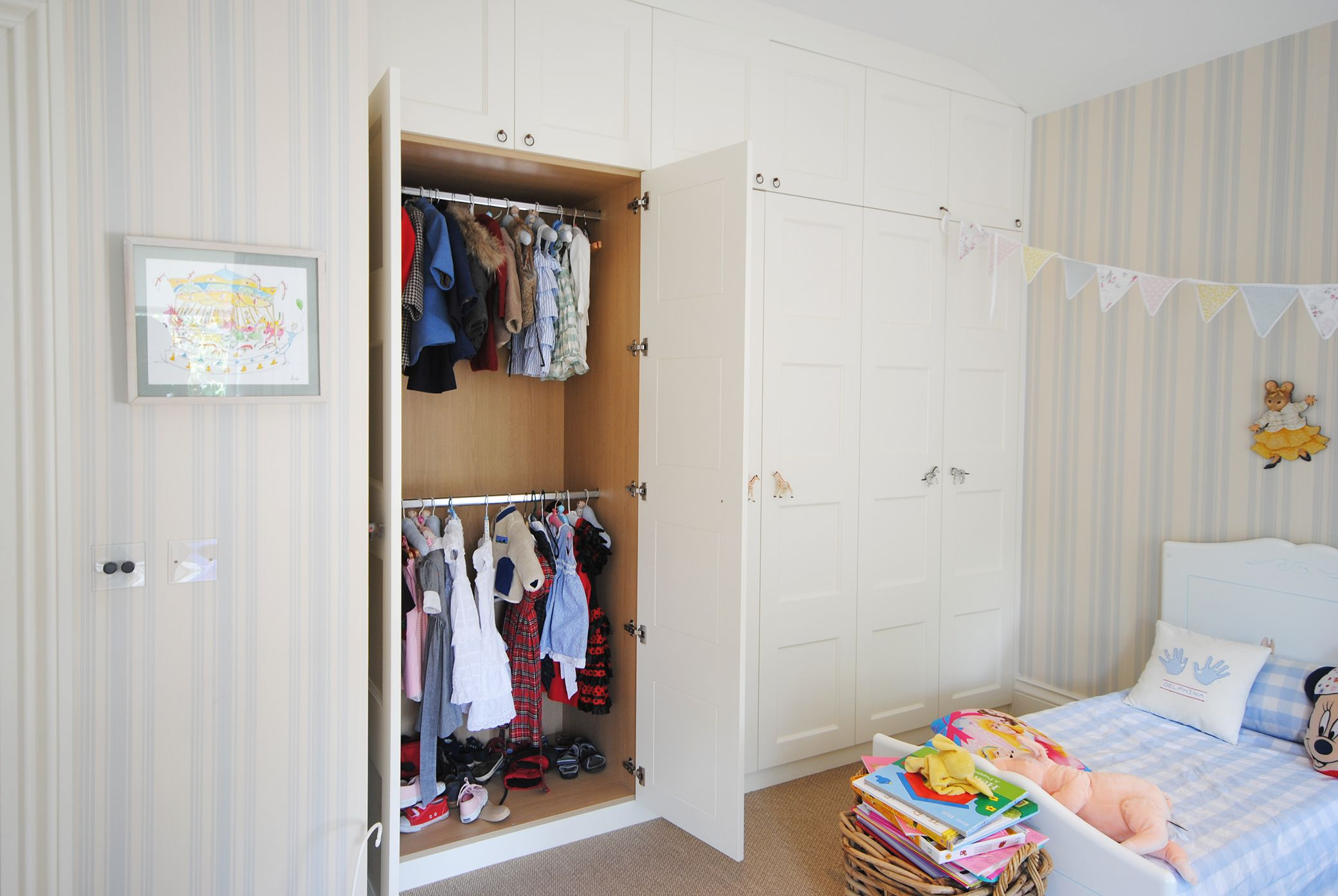 A Unique Children S Wardrobe Designed And Crafted By Creative Woodwork In London Www Creativew Made To Measure Wardrobes Childrens Wardrobes Bespoke Wardrobe