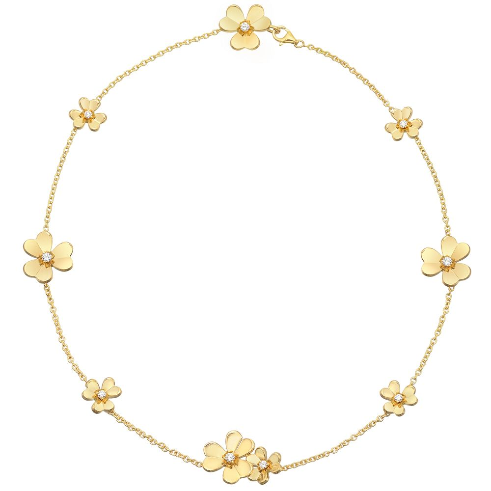 Van Cleef & Arpels 18k Gold & Diamond 'frivole' Necklace  Betteridge
