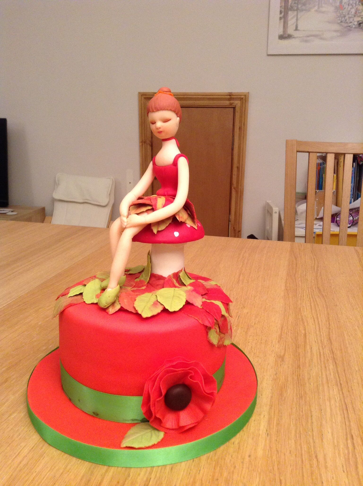 Autumnal Fairy for a Remembrance Day