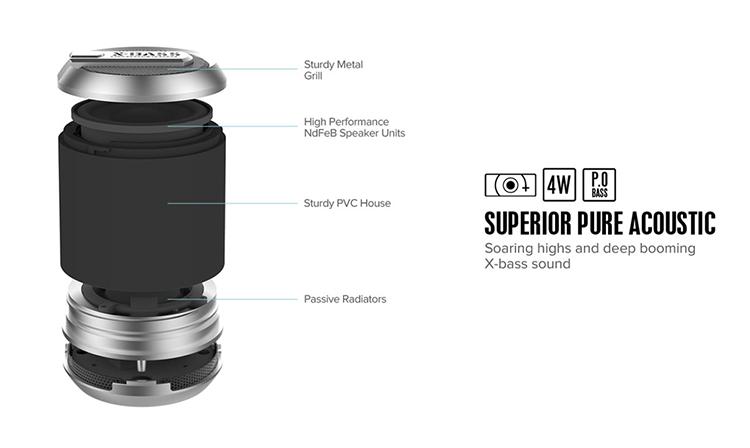 Bluetooth Speaker,Wireless Bluetooth Speaker,Portable