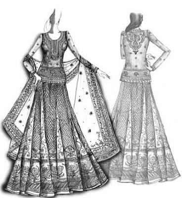 Image Result For Manish Malhotra Saree Sketches Fashion Illustration Dresses Dress Design Sketches Fashion Illustration Sketches Dresses