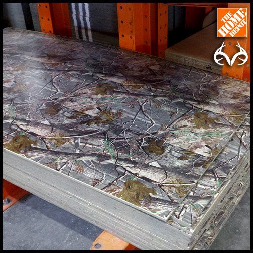 Realtree Laminated Plywood For Whenever That S Necessary