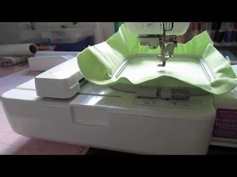 Brother SE 400 Embroidery Set Up: Part One | SEWING/embroidery ...