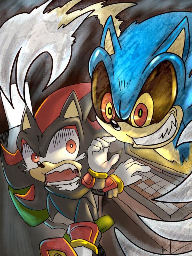 Sonic EXE D: RUN SHADOW RUN!!!!! | Mobius World | Sonic