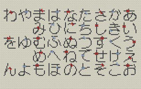 クロスステッチ雑記帳 フリーチャート クロスステッチ 刺繍 図案 クロスステッチ 図案
