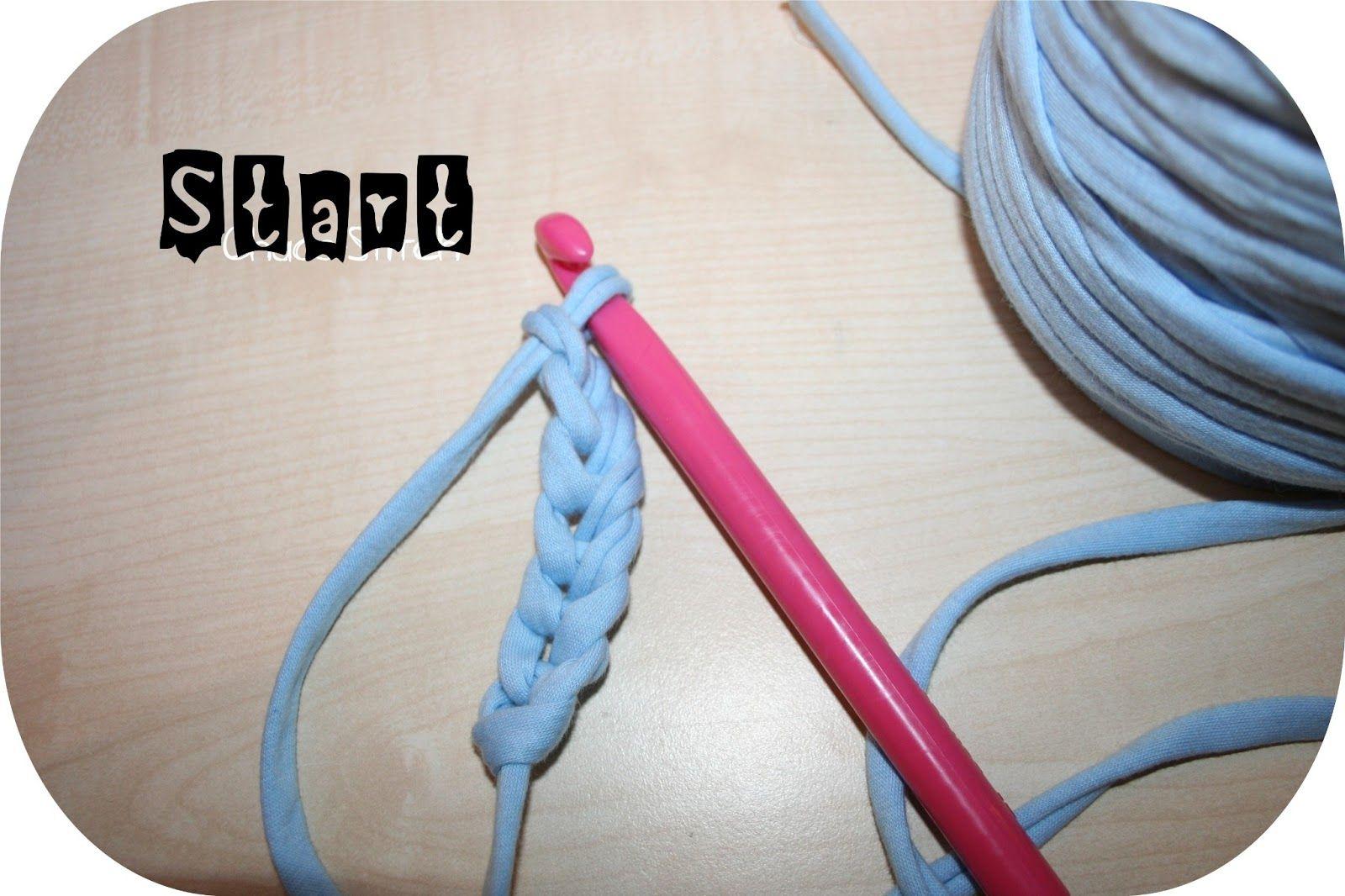 Chaos Stitch Tutorialhäkelanleitung Zpagetti Teppich Nähen