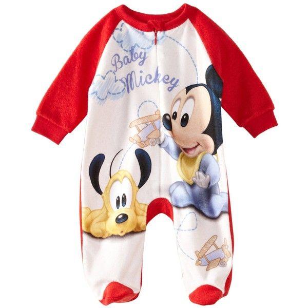 02f3deb20679 Disney Mickey Mouse Baby Boy s Onesie Sleepsuit Amazon.co.uk ...
