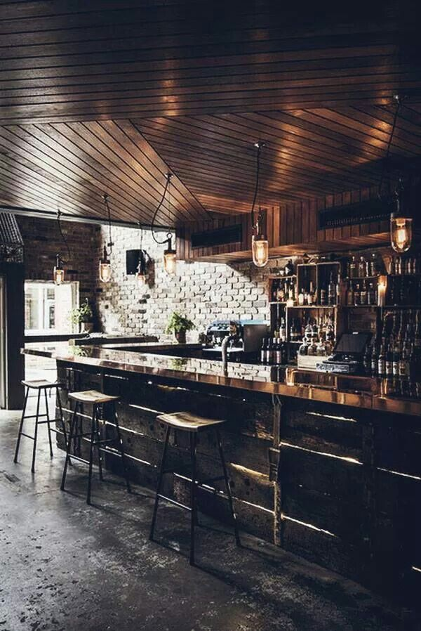 Donny S Wine Bar Australia Bar Interior Design Rustic Bar