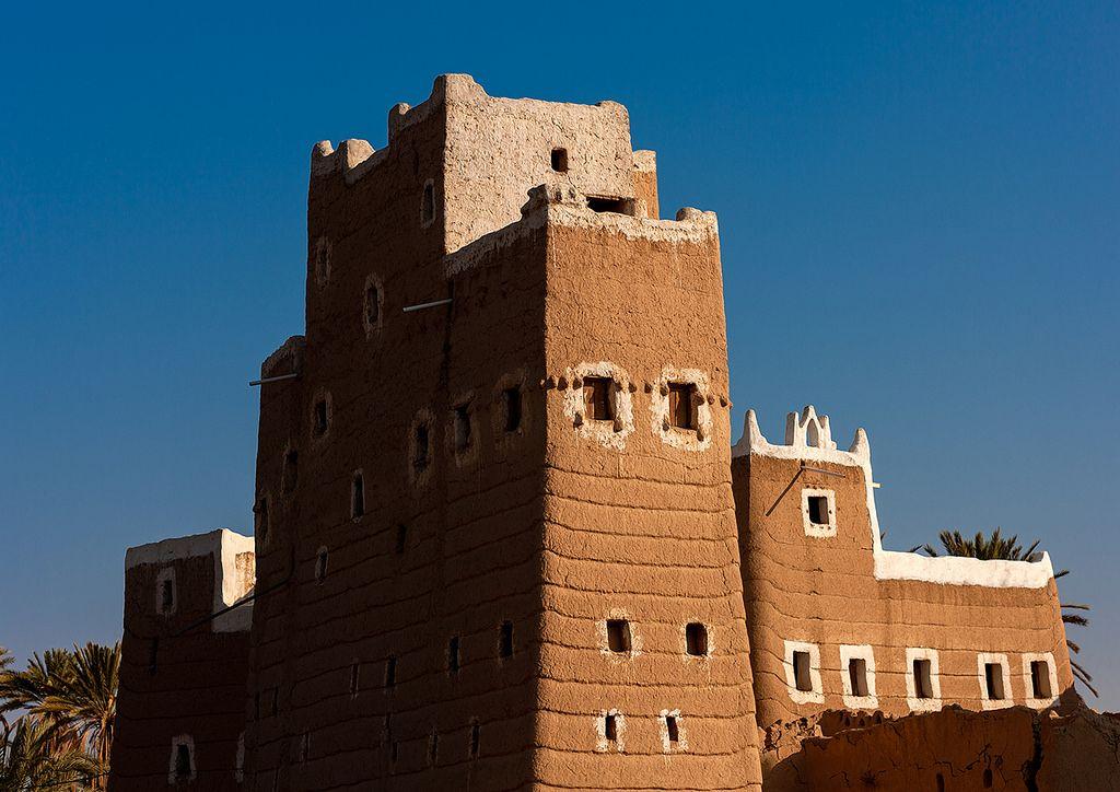Traditional Mud Bricks House Najran Province Najran Saudi Arabia Architecture Old Willis Tower Architecture