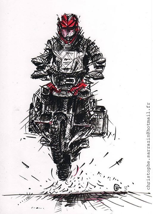 bmw gs 1200 drawing
