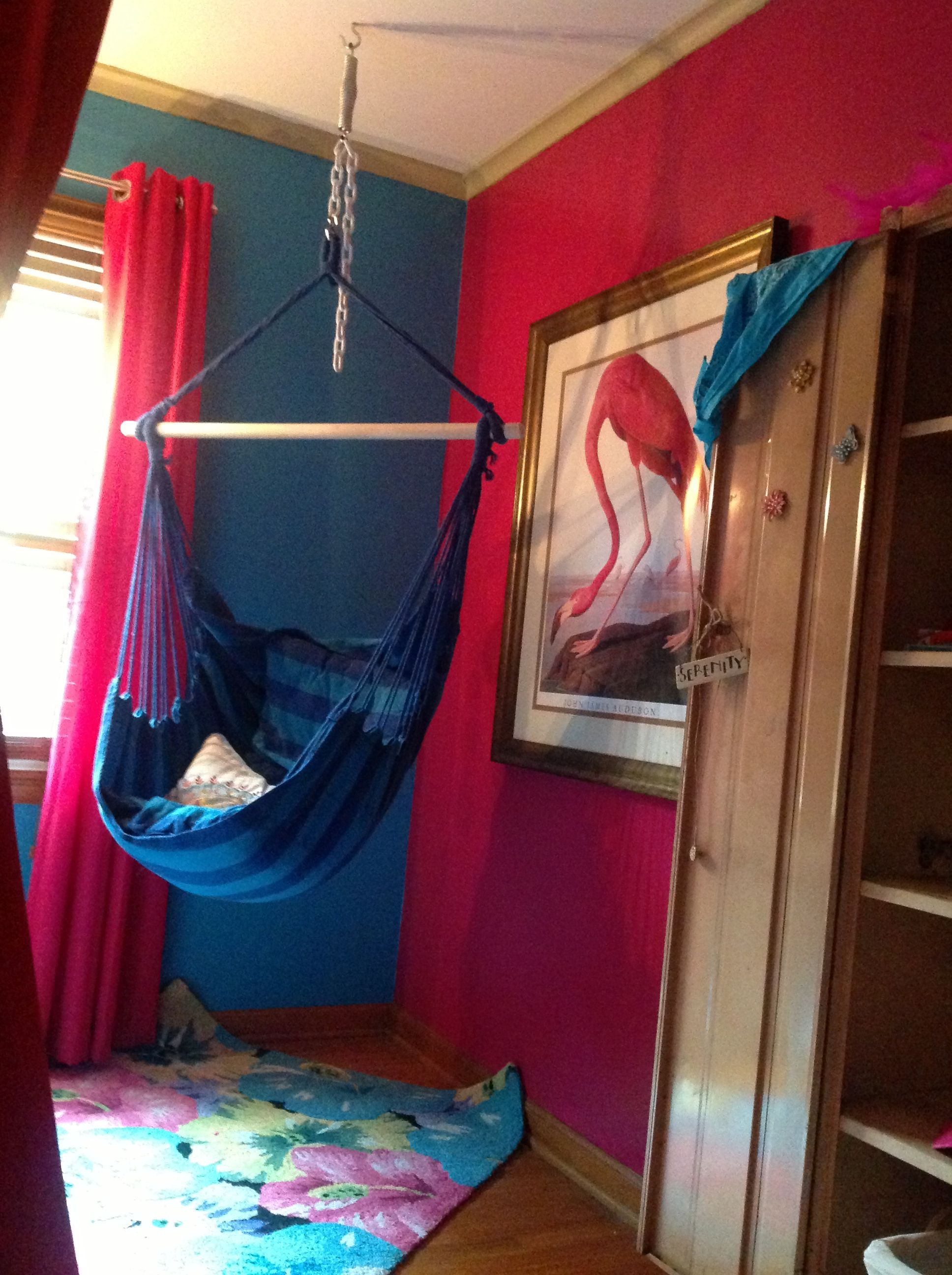 My Daughters Room That I Did For Her A Hammock Chair