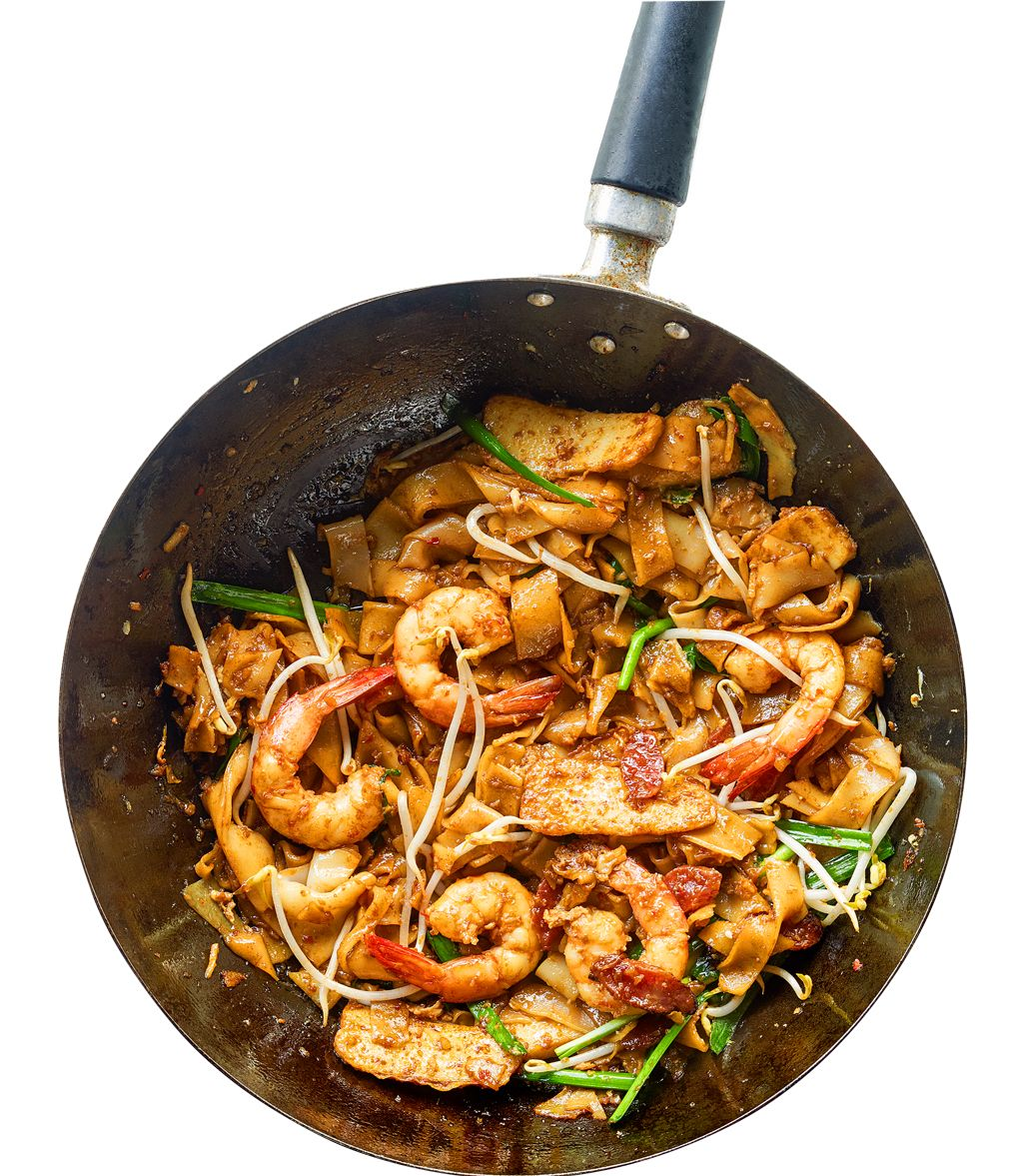 Char kway teow malaysian stir fried noodles with shrimp scallions char kway teow malaysian recipe via food safari sbs forumfinder Image collections