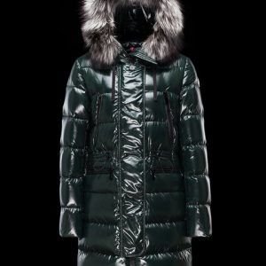 moncler dark green jacket