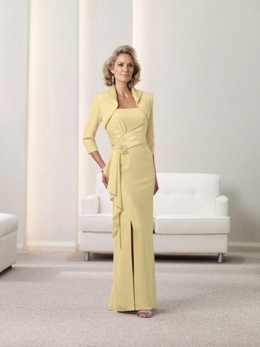 vestido mae da noiva comprido classico   casamento   Pinterest 41821381e7