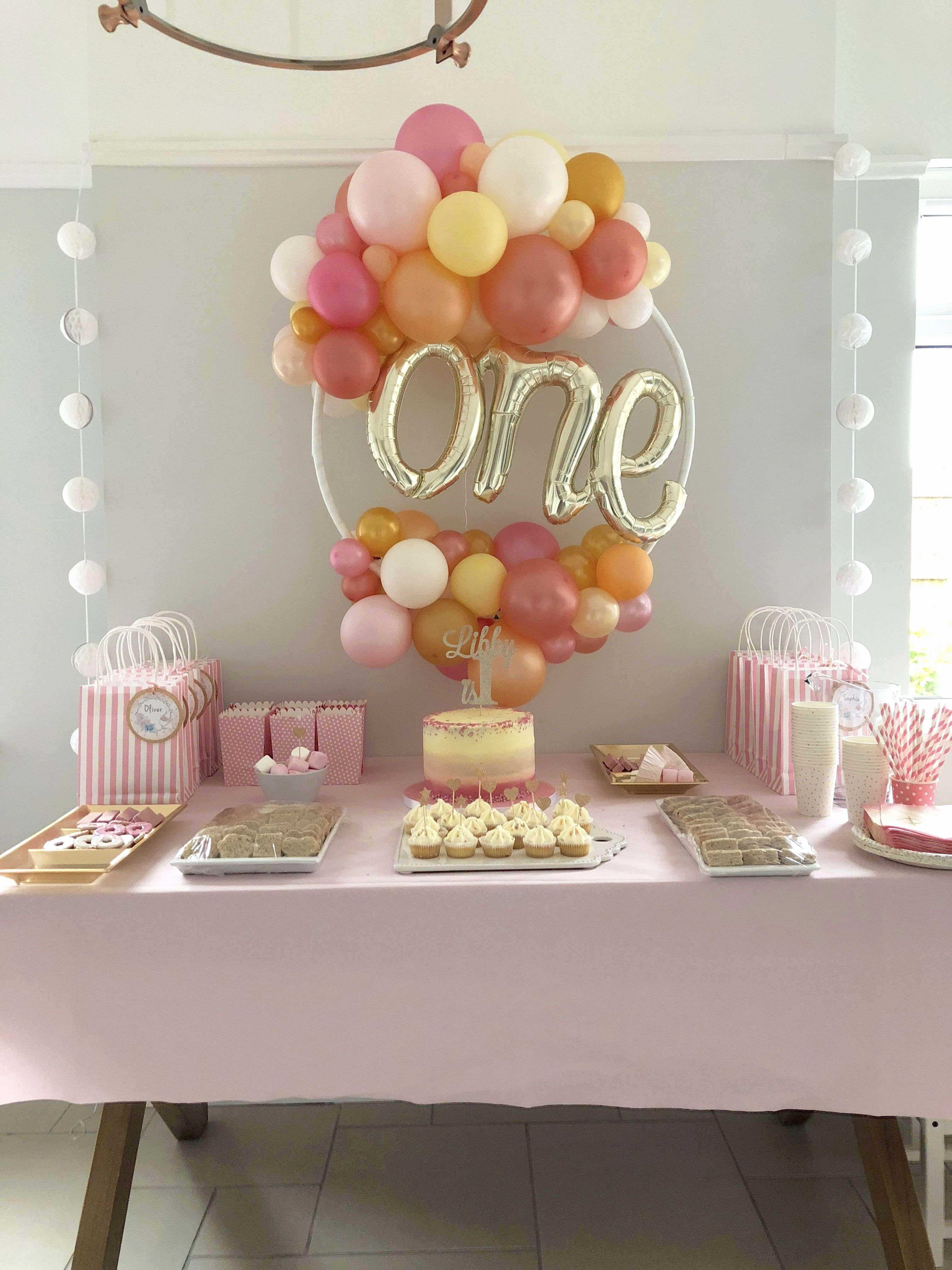 first birthday theme ideas girl fantastic 36 elegant pink