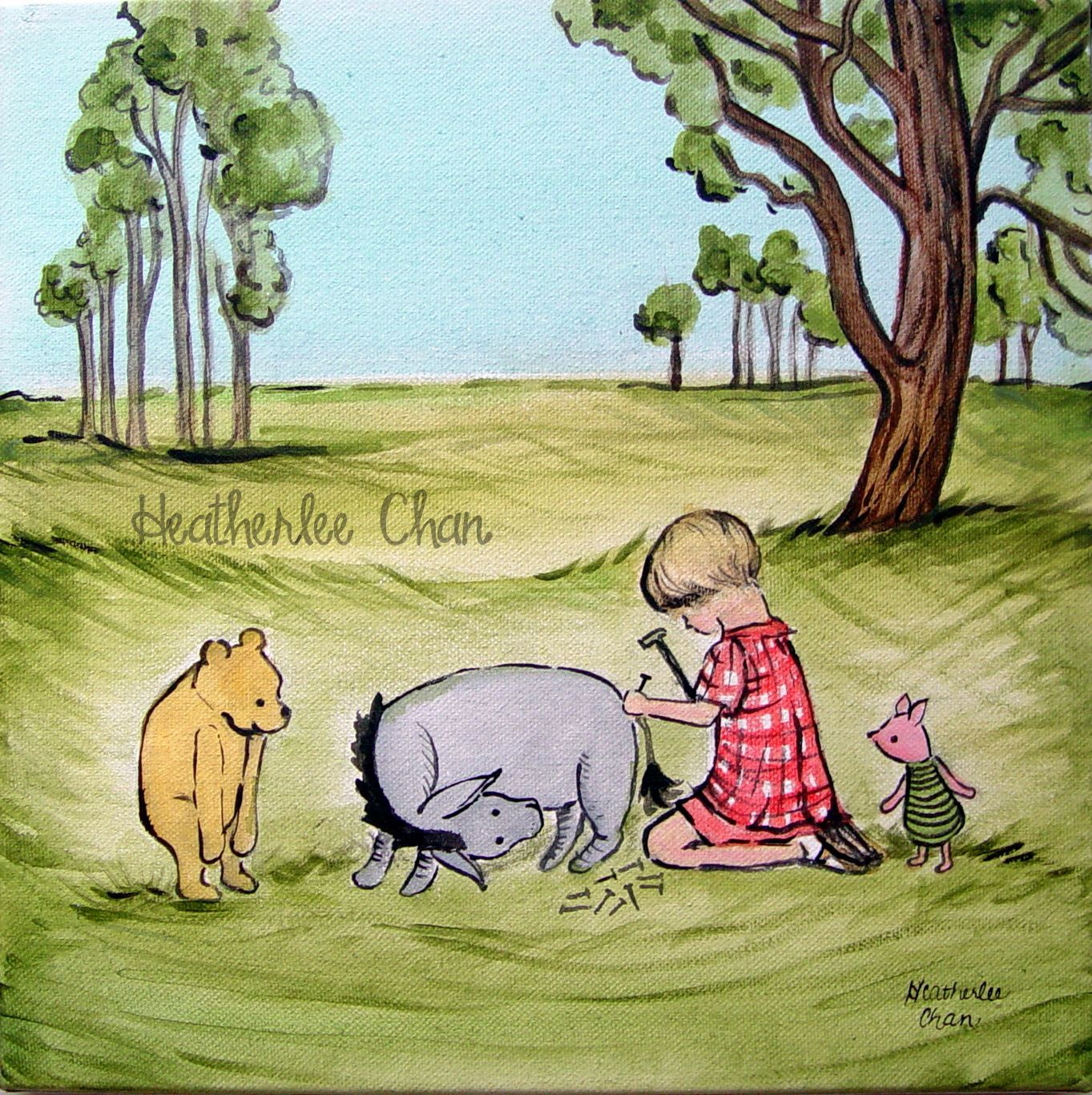 classic winnie the pooh and eeyore - Google Search | Classic Pooh ...