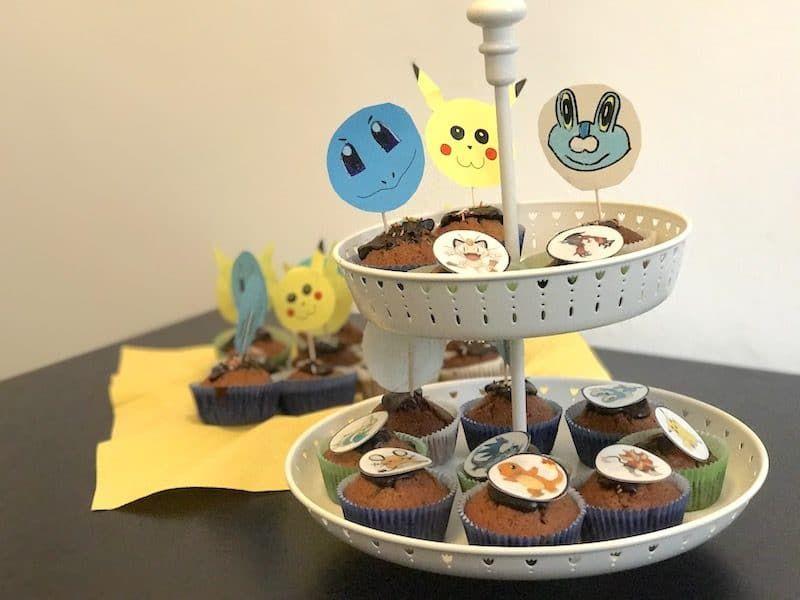 pokemon-party zum kindergeburtstag mit deko, spielen