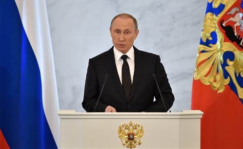 Putin: Turkey Leaders 'Stuffing Pockets' With ISIS Oil Cash