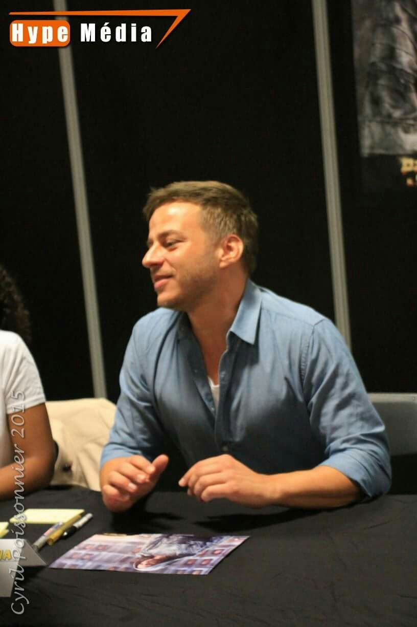 Tom Wlaschiha at the Sci-fi show event from 2015 #tomwlaschiha