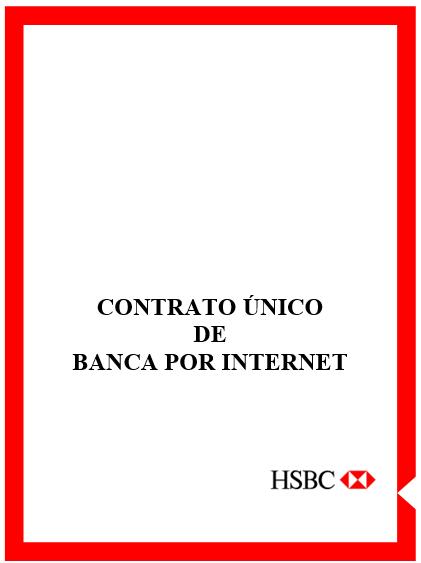 Contrato De Banca Personal Por Internet Hsbc México Contrato