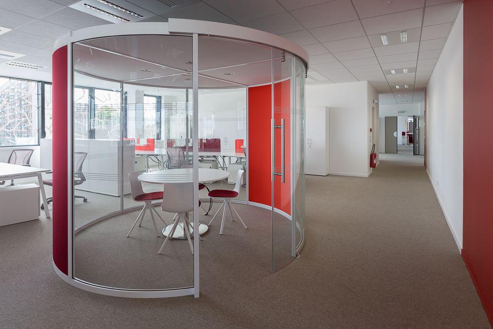 Aménagement design bureaux open space salles de réunion open