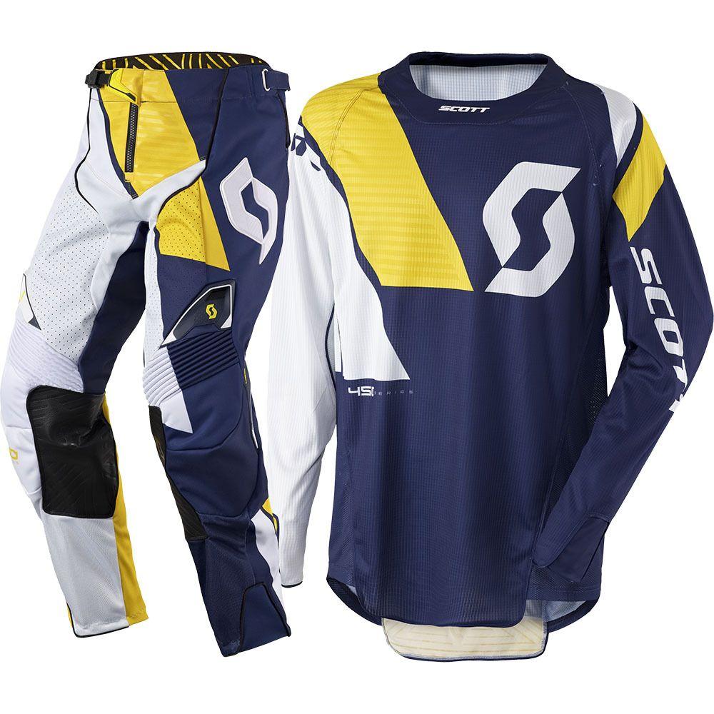 Scott Jersey 350 Track Gris//Jaune