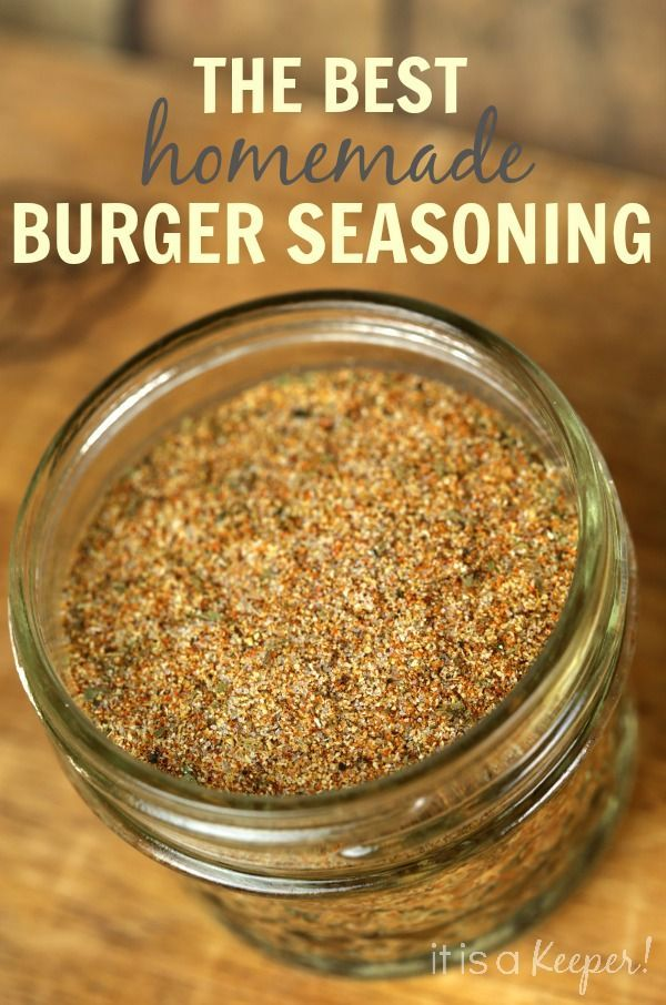 Kick up the flavor of your burgers with this easy homemade Burger Seasoning Blend recipe.