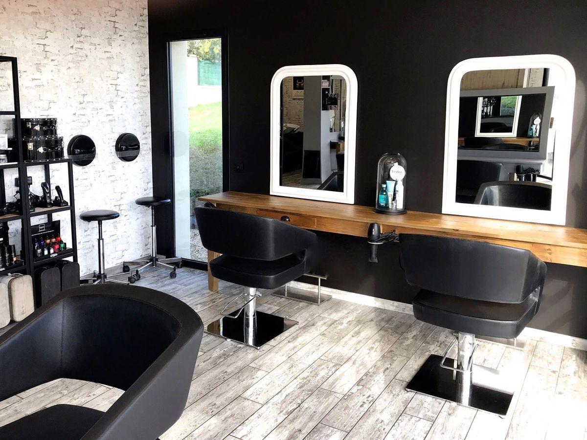 Epingle Sur Idee Deco Salon De Coiffure