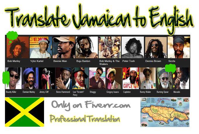 Michaeljonesdvd Translate Jamaican To English For 5 On Fiverr