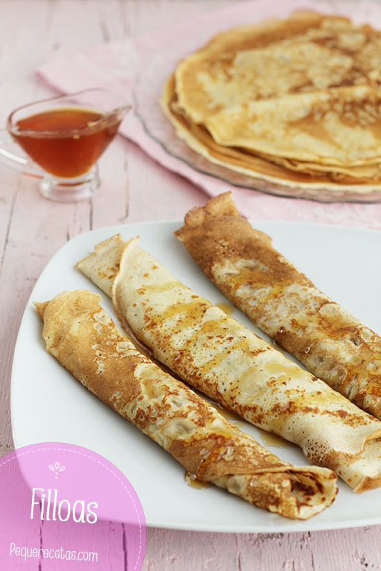 Crepes ricetta in spagnolo
