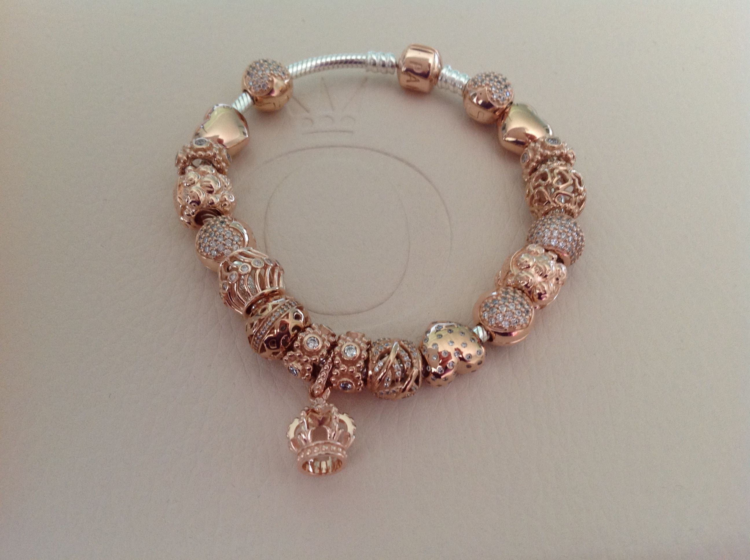 Pandora rose charms sale for Cheap gold jewelry near me