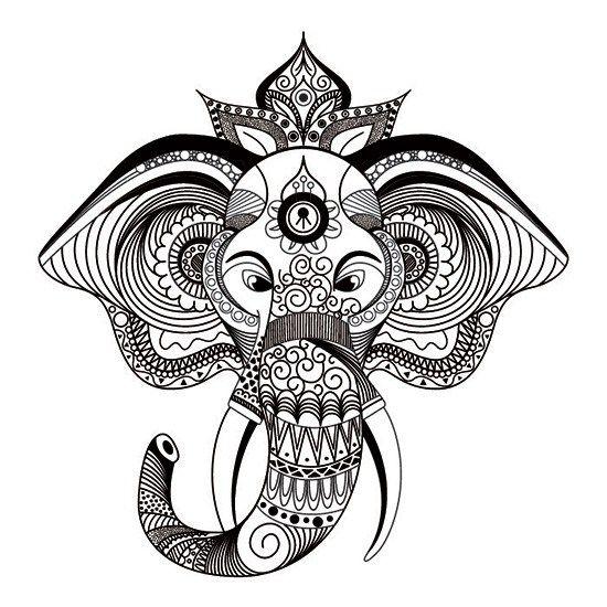 Mandalas de Elefantes para Imprimir PDF Gratis - Zentangle ...