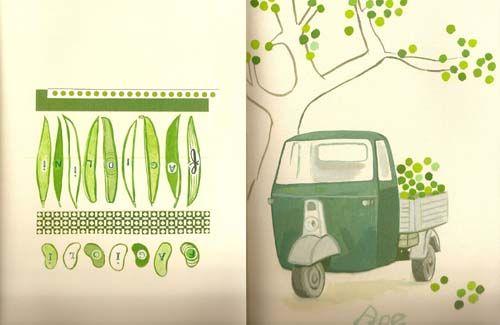 Illustratie uit kookboek La cucina verde | My Style | Pinterest ...