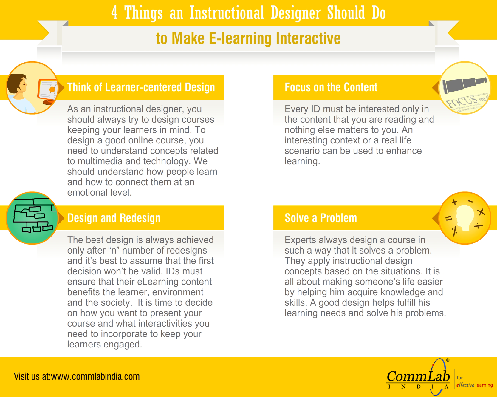Creating Excellent E Learning Courses 4 Things To Do An Infographic Elearning Instructional Design Learning Theory