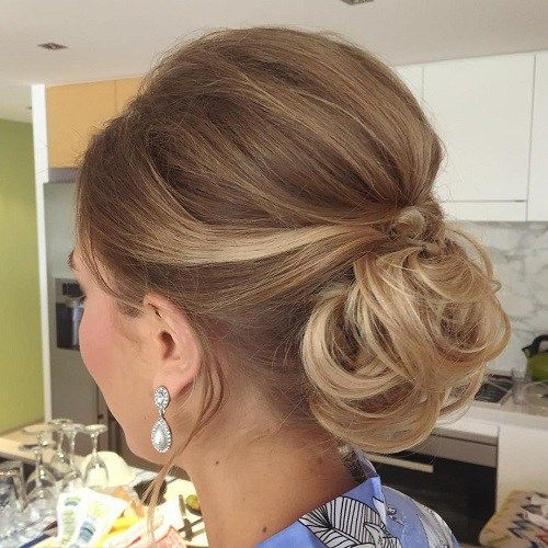 40 Lovely Low Bun Hairstyles For Your Inspiration Low Bun Hairstyles Bun Hairstyles Short Hair Updo