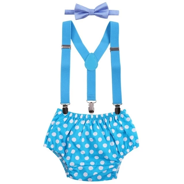 Boy Photo Outfit Bow Tie Suspenders Diaper Cover Tie Set Cake Smash Outfit Baby Boy Photo Prop Baby Boy Clothes Diaper Cover Set