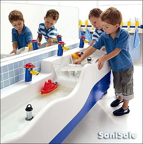 Kids Enjoy The Bathroom Too With This Playful Sphinx 300 Kids Line Hopital Pour Enfants Jardin Pour Enfants Petite Enfance