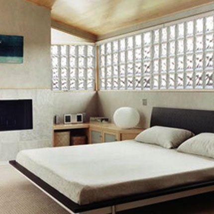 briques de verre | Decor bedroom | Pinterest | Briques, Verre et ...
