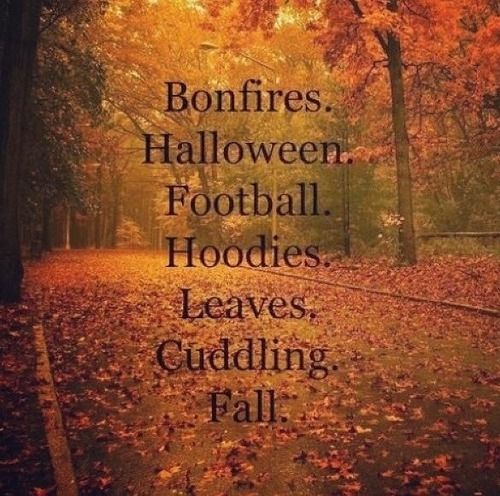 High Quality What I Love About Autumn... Quotes Football Trees Autumn Leaves Fall Orange  Halloween