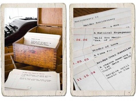 Sweet idea diy catalog of love anniversary gifts library cards