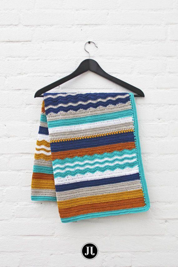Crochet pattern baby blanket por creJJtion en Etsy | Tejidos ...