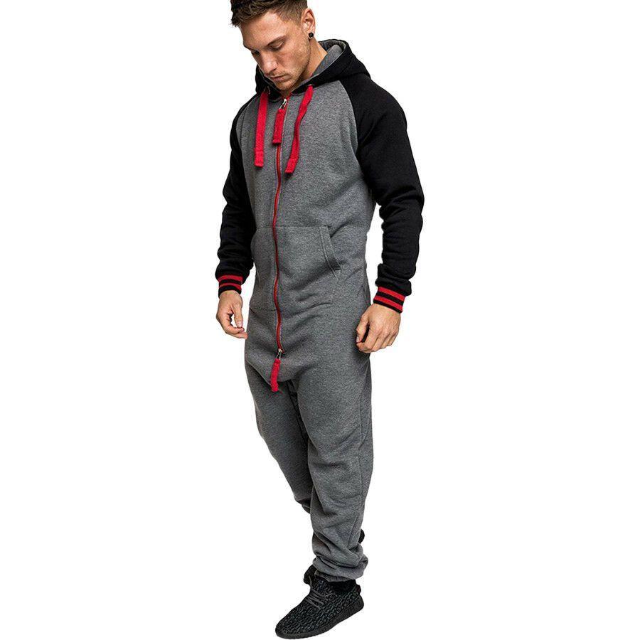 Long Sleeve One Piece Garment Warm Fur Sweatshirt Fur Sweatshirt Mens Sweatshirts Jumpsuit Men [ 900 x 900 Pixel ]
