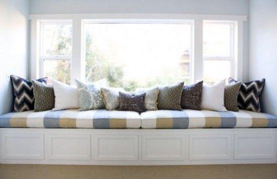 Gathering Ideas For A Custom Window Seat