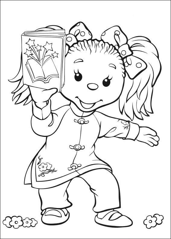 Tegninger til Farvelægning Rupert 1