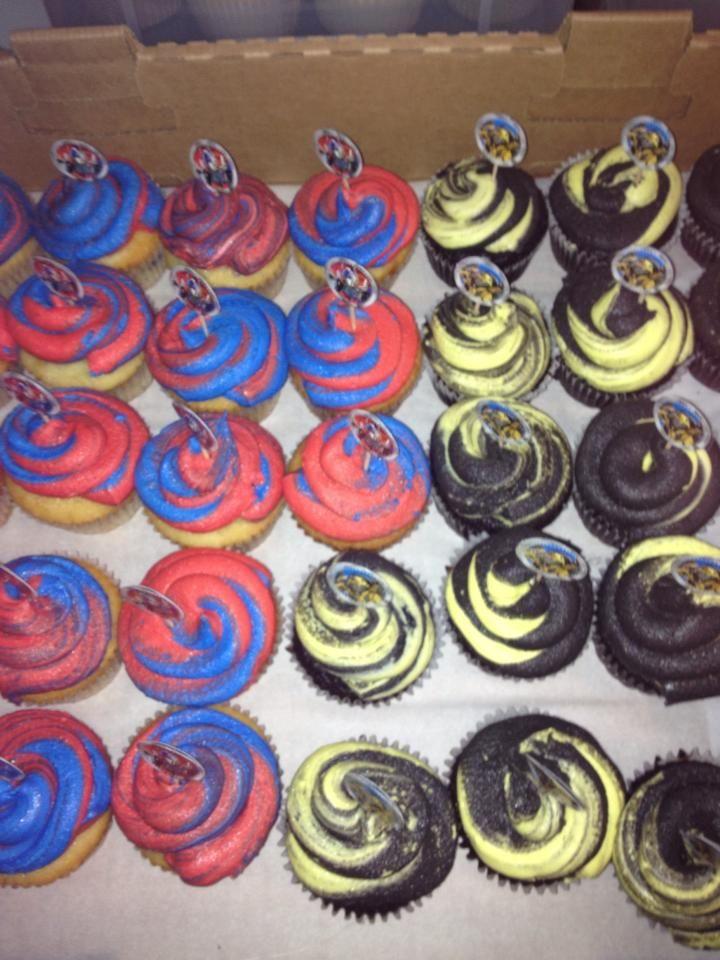 Transformer Cupcakes Jameson S 4th In 2019