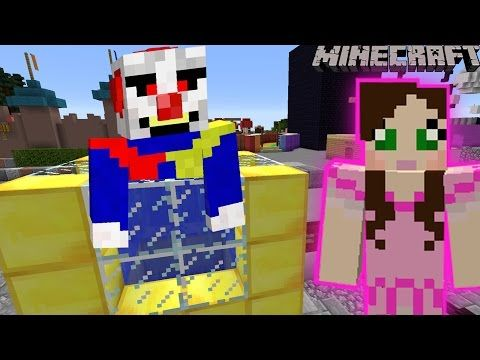 Minecraft: DUNK THE CLOWN GAME - PAT PARADISE [4] - YouTube