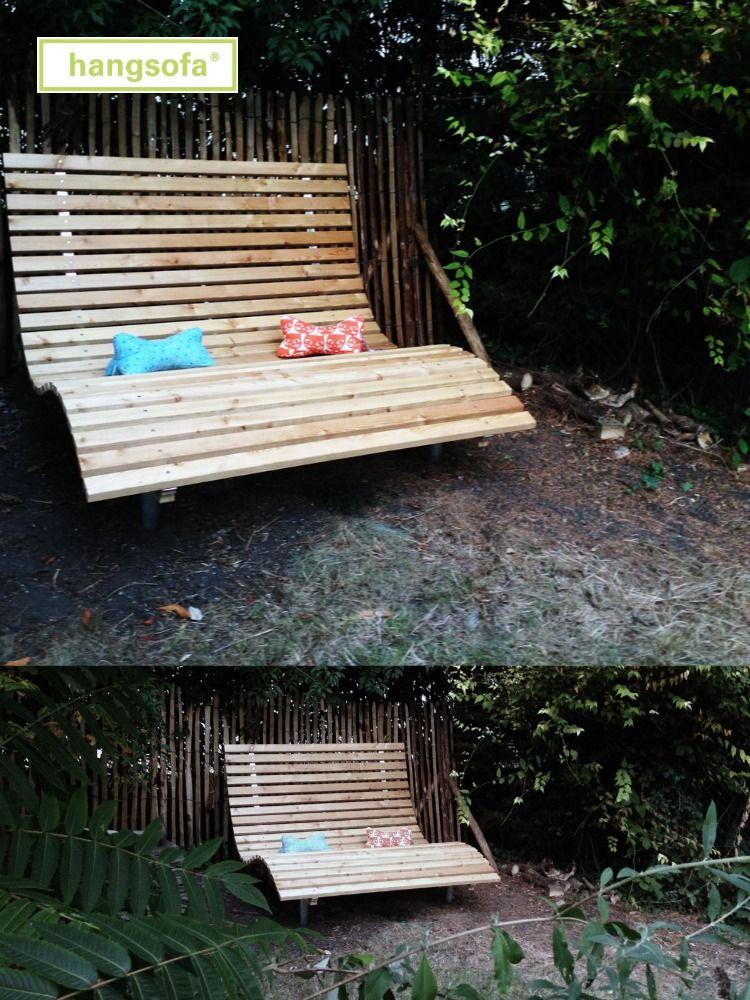 Gartenliege Mit Wellenform Von Hangsofa Gartenliege Garten Wellen