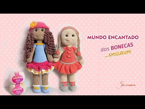 Boneca Lara amigurumi - Comprar em Malulu Ateliê | 360x480